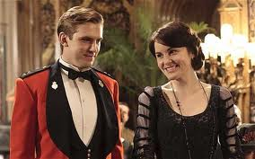 Mary and Matthew from Downton Abbey.  Hillary and Tom are a older modern version.
