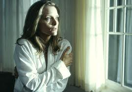 "Michelle Pfeiffer, the nosy neighbor in ""What Lies Beneath"""