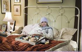"Cameron Diaz, home for the night in ""The Holiday"""