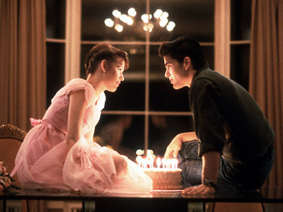"From the film, ""Sixteen Candles"" when everyone forgot a girl's birthday"