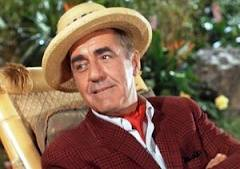 Thurston Howell, III from Gilligan's Island.   My would-be suitor was older than Mr. Howell, but  he'll do.