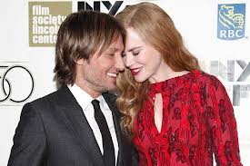Nicole Kidman and her current husband, Keith Urban