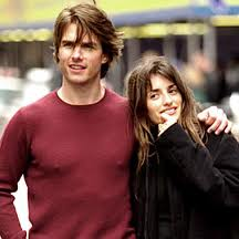 Tom Cruise and one-time girlfriend, Penelope Cruz.