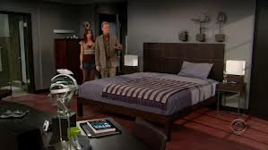 "Barney's Bedroom in ""How I Met Your Mother"" Season 2.  Barney, would never stand for two sinks.  Never."