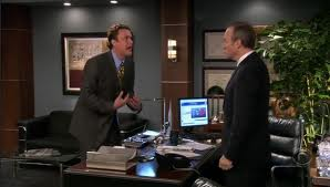 "Marshall stood up to his boss, on ""How I Met Your Mother"""