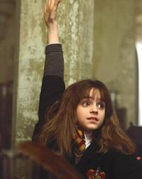 Hermione Raising Her Hand
