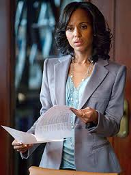 Olivia Pope, from Scandal